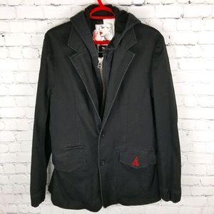 VOLCOM | Ransom twill fleece casual blazer jacket